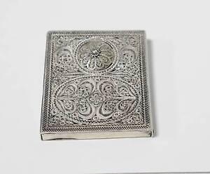 Antique-Sterling-Silver-Filigree-Card-Case
