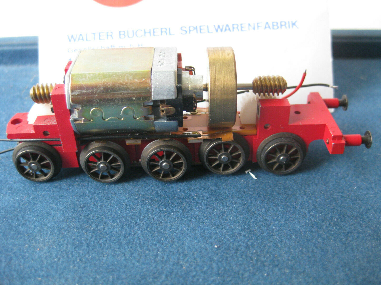 Liliput TENDER CHASSIS MOTOR T38 Steam Locomotive BR 01.10 H0 NEW