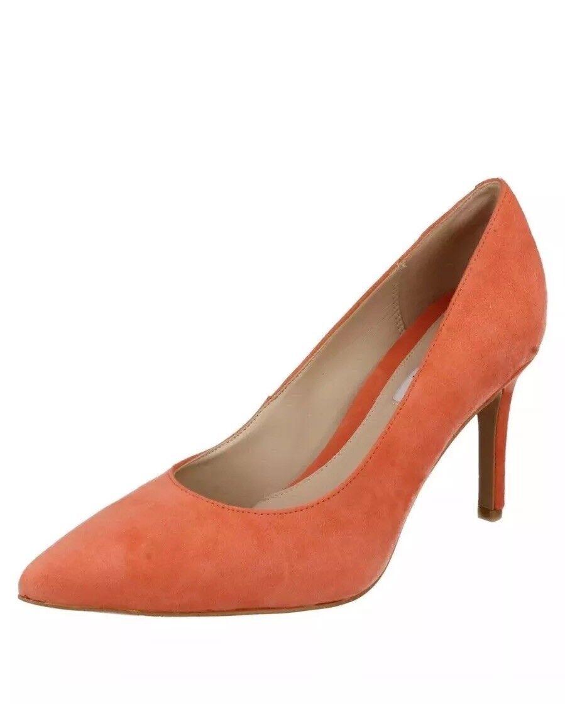 Clarks Womens Dinah keer Pumps coral Size 4.5D