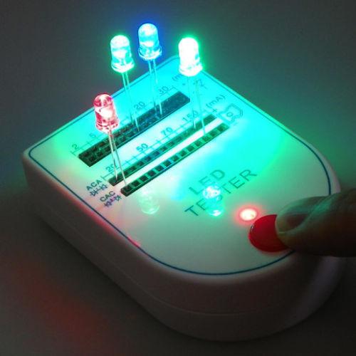 Mini LED Tester Box Portable Test Light-emitting Diode Bulb Lamp 9V 2~150mA WE2U
