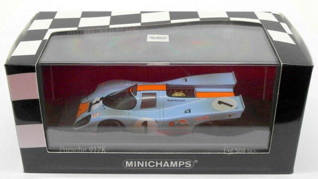 Minichamps 1/43 Scale 430 706791 Porsche 917K Gulf 24h Daytona Siffert/Redman 70