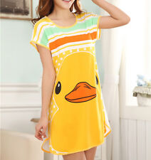 Cute Duck short nightgown, nightie, pyjamas. Japan, kawaii. small 8-10 uk
