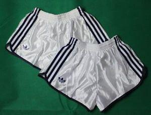 2x-Adidas-Sporthose-Nylon-Bade-Shorts-Boxershorts-Vintage-XS-D4-Neu-2er-Pack
