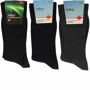 4097692b3 Image is loading Unisex-HJ-Hall-Non-Elastic-Socks-Softop