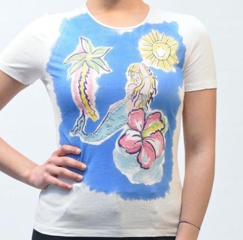 T-shirt - 50% BlauGIRL 6.5.11072 MIS.42  PP 100% cotone made in italy