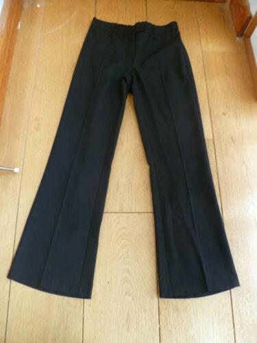 Marks /& Spencer Navy Blu o Nero Bootleg Bootcut Pantaloni Scuola 45678101116