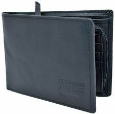 Portafoglio Uomo Napapijri  Wallet Men Black Nero N8G01 Rugged Billfold 12 CC +