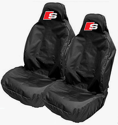 FORD Car Sports Recaro Seat Cover Protector in Black Fits FORD SIERRA COSWORTH