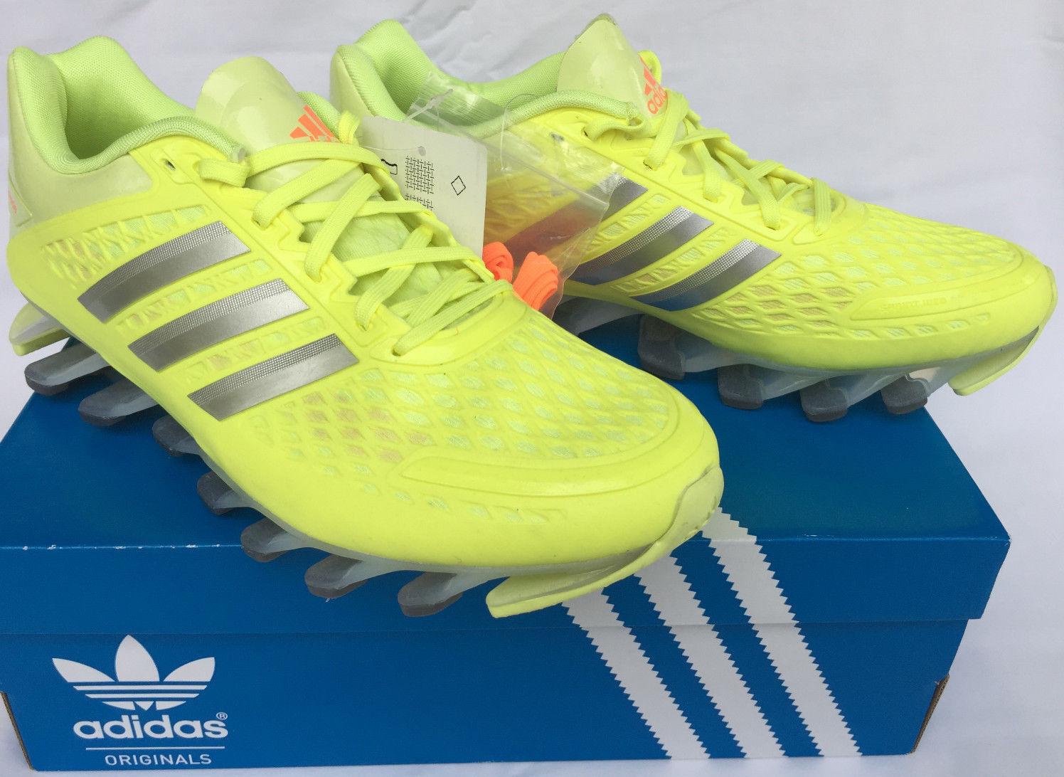 Adidas Springblade Razor W M20200 Glow Silver Marathon Running shoes Women's 8.5