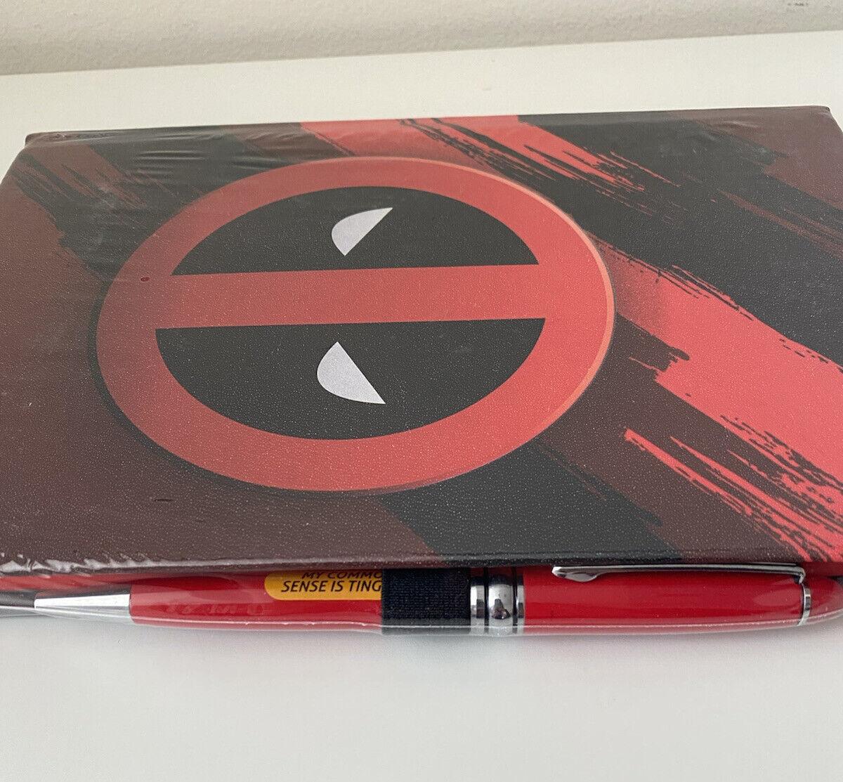 DEADPOOL Notebook Diary Marvel Comic Notepad Movie Fans Hardback Journal