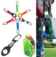 Outdoor Water Bottle Holder Clip Buckle Travel Hiking Camping Carabiner