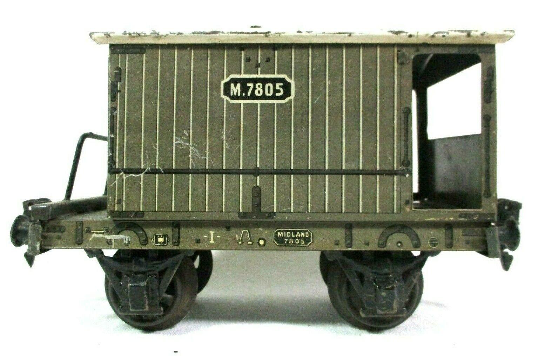 Carette Midland Caboose 1 Gauge Vintage Model Railway Freight Car B45