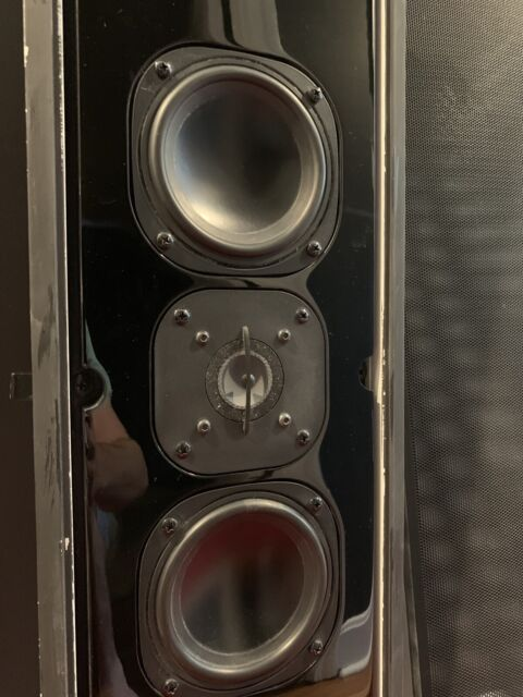 High End Speakers For Sale Ebay >> Pair Of Sonance Silhouette Ii Signature Series In Wall Speakers High End