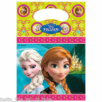 Disney FROZEN Princess Party Supplies PARTY LOOT BAGS Girls Job Lot Gift Bags