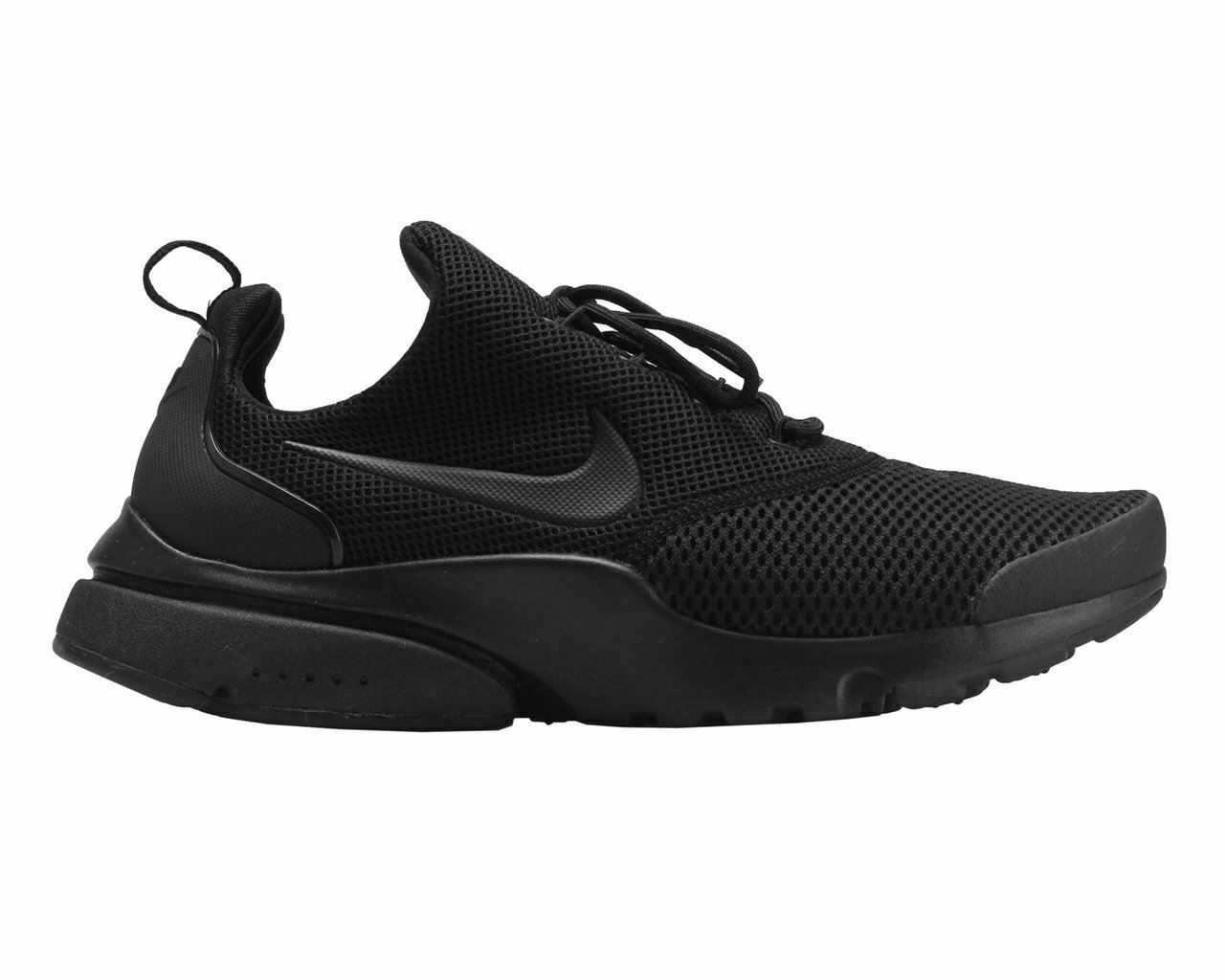 Mens Nike PRESTO FLY 908019 001 Gym shoes Black Trainers