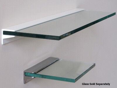 Heavy Duty Glass Shelf Bracket Aluminium Floating Glass