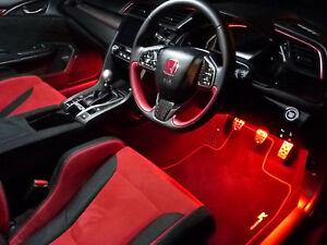 Mugen Honda Civic Ep3 Fn2 Fk2 Fk8 Type R Interior Footwell Led Lighting Kits Ebay