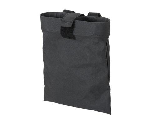 BLACK belt Airsoft AEG bolsa de descarga Roll-Up Dump Pouch
