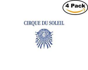 Cirque-Du-Soleil-4-Stickers-4X4-inches-Sticker-Decal