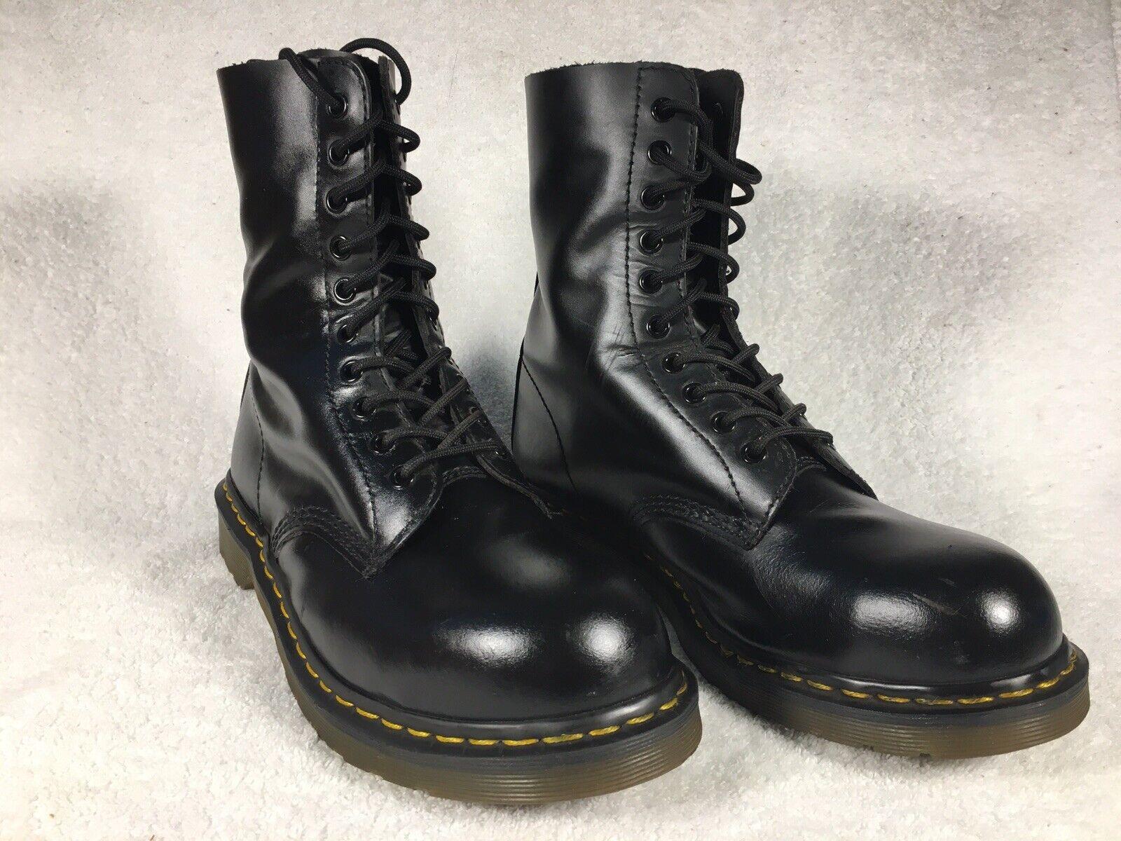 Dr. Martens Rare Vintage Black Leather