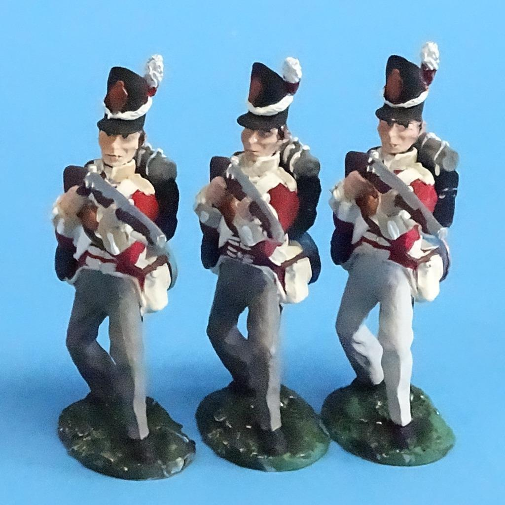 CORD-N0169 - British Infantry - Standing Firing (3 Pieces) - Napoleonics