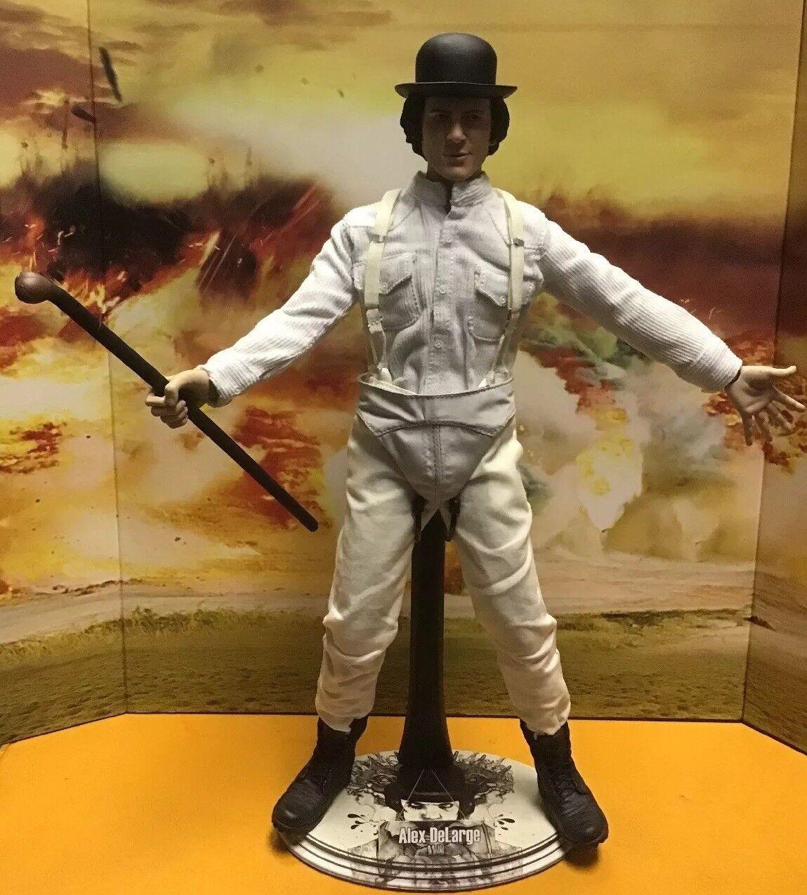 Clockwork orange, Alex DeLarge, Malcolm McDowell 1 6 Scale verkan Figur