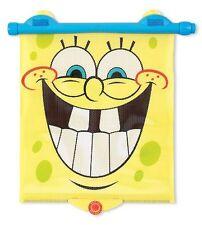 Munchkin SpongeBob White Hot Safety Sunblock Retractable Car Shade, Yellow