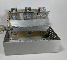 Ram Optical Instrumentation Light Source For Fiber Optics Three Light Bulbs