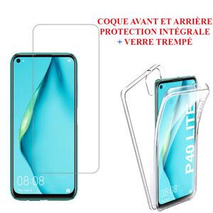 Housse Coque ultra mince 360° protection intégrale Avant et Arrière Serie Huawei