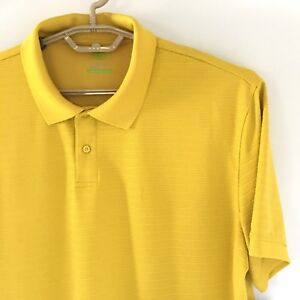 New-Nordic-Track-Athletic-Fit-Shirt-Mens-Size-XL-Polo-Golf-Yellow-NWT