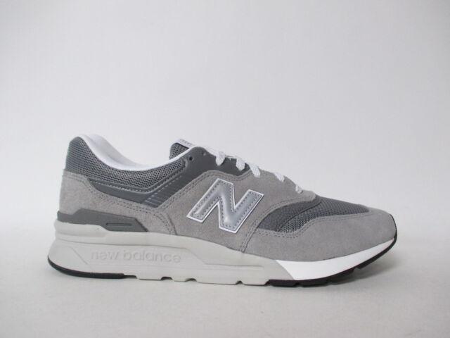 New Balance 997 Grey White Silver Sz 9.5 CM997HCA