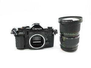 Canon-A-1-SLR-Spiegelreflexkamera-Zoom-Lens-FD-35-105mm-1-3-5-Objektiv