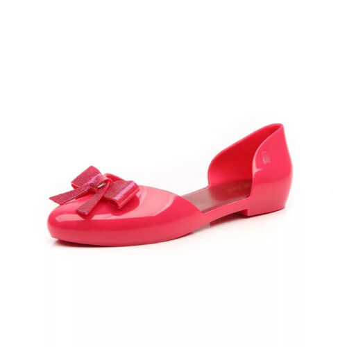 Melissa New Women/'s Jelly Shoes Adult Sandals Parent-child Shoes Soft and