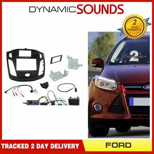 CTKFD31C-Noir-Carenage-Double-Din-Radio-Installation-Kit-pour-Ford-Focus