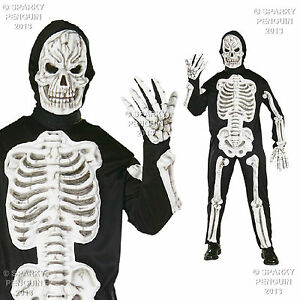 Skeleton Outfit Halloween.Details About Adults 3d Bones Skeleton Costume Medium Mens Outfit Halloween Nightmare Scary
