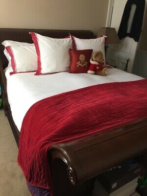 And So To Bed Brodsworth Superking Size Sleigh Bed 20k Ebay