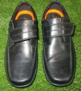 M\u0026S Air Flex Black Extra Wide Shoes