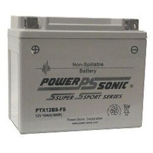 Haushaltsbatterien & Strom Batterie Power-sonic Ptx12bs-fs 12v 10ah 180 Cca Factory Sealed Je Kunden Zuerst