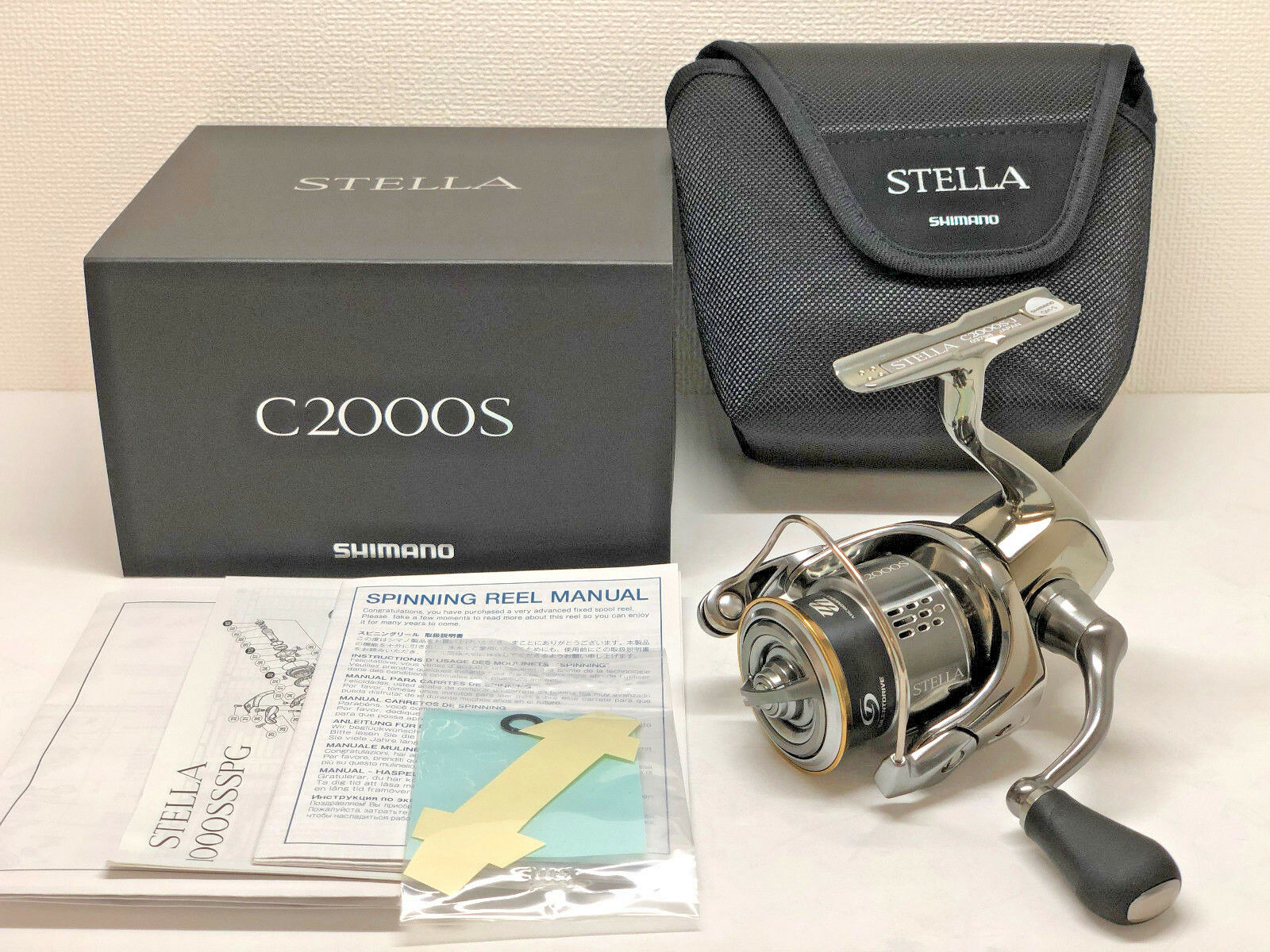 SHIMANO 18 STELLA C2000S  - Free Shipping from Japan