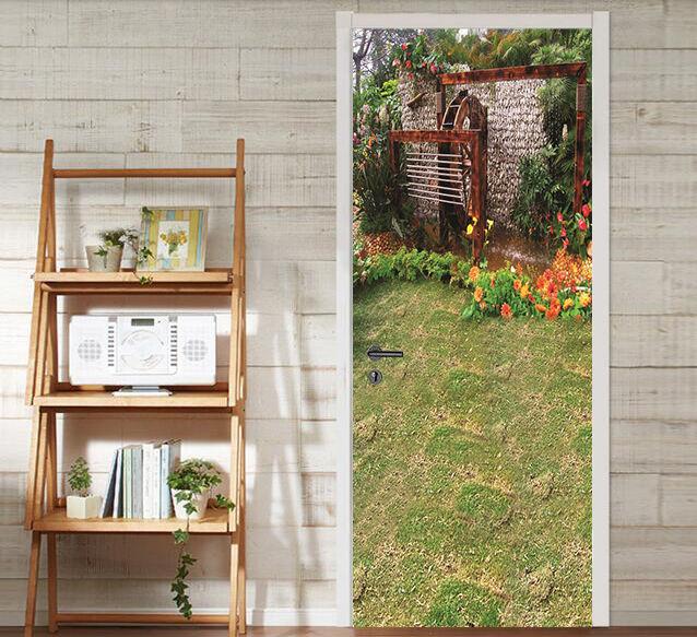 3D Haus 2445 Door Wall Mural Photo Wall Sticker Decal Wall AJ WALLPAPER DE
