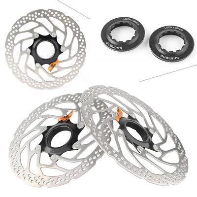 Bicycle SM-RT30 Center Lock Brake Rotor Disc160mm//180mm Mountain Bike