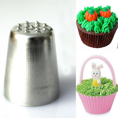 Fashion Grass Hair Icing Piping Nozzle Cake Cupcake Decorating Tip Tools 3C02