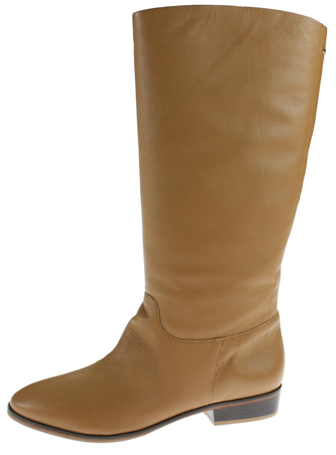 FlipFlop Damen Leder Stiefel Nicolette, Größe 42, Camel, NEU