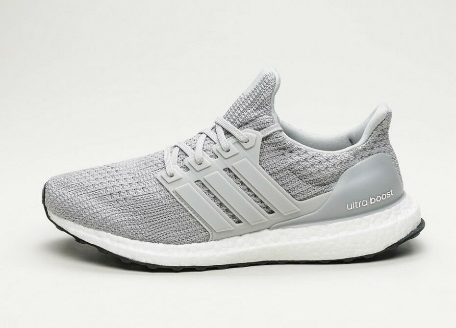 Adidas Ultra Boost 4.0 Clear Grey Core Black Size 12. BB6167 yeezy nmd pk