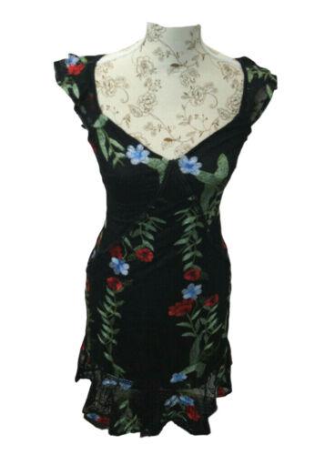GUESS Kleid Sommerkleid Apollonia Dress Freizeitkleid G014 Größe S