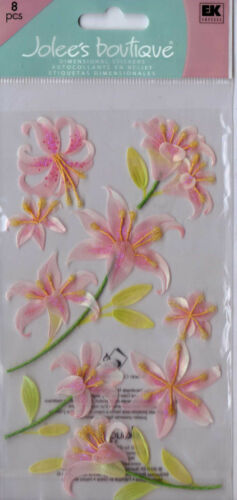 Jolee/'s FLOWER themed embellishment stickers~BNIP~NICE USEFUL!!