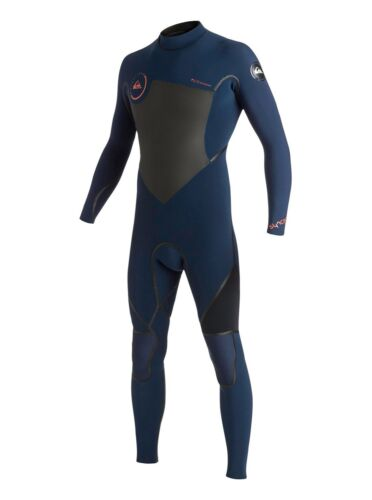 navy//black Quiksilver Syncro LFS 4//3 Back Zip Wetsuit men/'s size 3XL NEW NWT