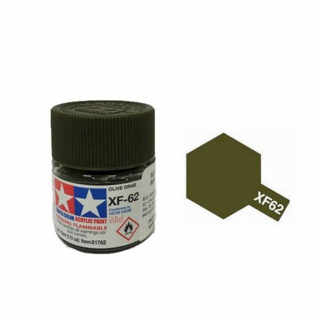 Olive Drab mat pot de 10ml-TAMIYA XF62