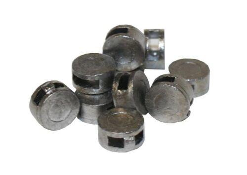 Bleiplomben 9 mm im Beutel mit 500 Stück