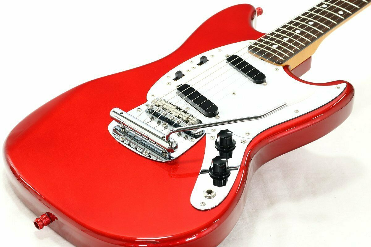 Fender Japan Mustang MG69 MH Old Candy Apple rot  JAPAN beautiful rare EMS F S